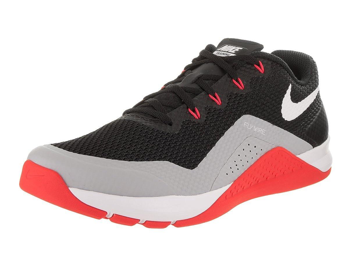los angeles b6bc2 b2cb6 Amazon.com  Nike Metcon Repper DSX Mens Cross Training Shoes Trainers (8  D(M) US, BlackWhite Wolf Grey)  Road Running