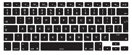 MiNGFi Dvorak Cubierta del teclado / Keyboard Cover para MacBook Pro 13