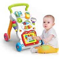 Let's Play Children Music Walker with Lights, Music and Fun Development Activities (Color May Vary)