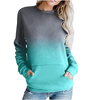 Mfasica Mens Ombre Pocket Relaxed-Fit Comfort Plus-Size Pocket Sweatshirt