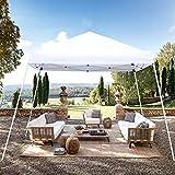 Blissun 10' x 10' Outdoor Pop-Up Slant Leg Canopy, Folding Tent Portable Pergola