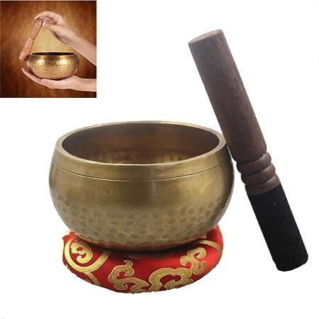 JHKJ Cuenco para Cantar: Juego de Cuencos tibetanos ...