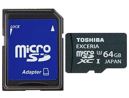 Toshiba SD-CX64UHS1 (6 A Micro SD 64 GB MB Tarjeta de ...