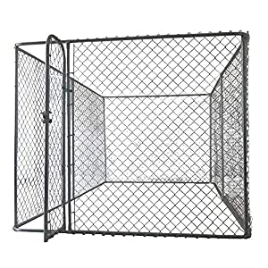 4m x 2.3m Pet Enclosure Kit Dog Kennel Run Animal Fencing Fence Sturdy and Reliable Easy Assembly Fully Galvanised and… Click on image for further info.