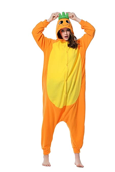 amazoncom honeystore unisex adult new animal cosplay halloween one piece costumes pajamas clothing