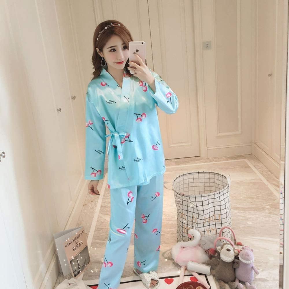 Handaxian Pijama de Mujer Pijama de Primavera y otoño Estampado de ...