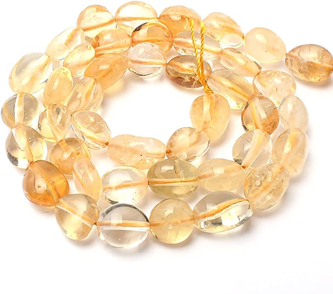 60s , 70s Hippie Clothes for Men Love Beads Citrine Stone Beads Irregular Loose Gemstone Beads 8-11 mm for Jewelry Making $9.49 AT vintagedancer.com
