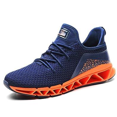 Chaussure Homme de Sneakers Mode pour Sport Amoureux Tissu Respirant Basket  Running Chaussons Léger Antidérapant Tendance 24fa26fb93b