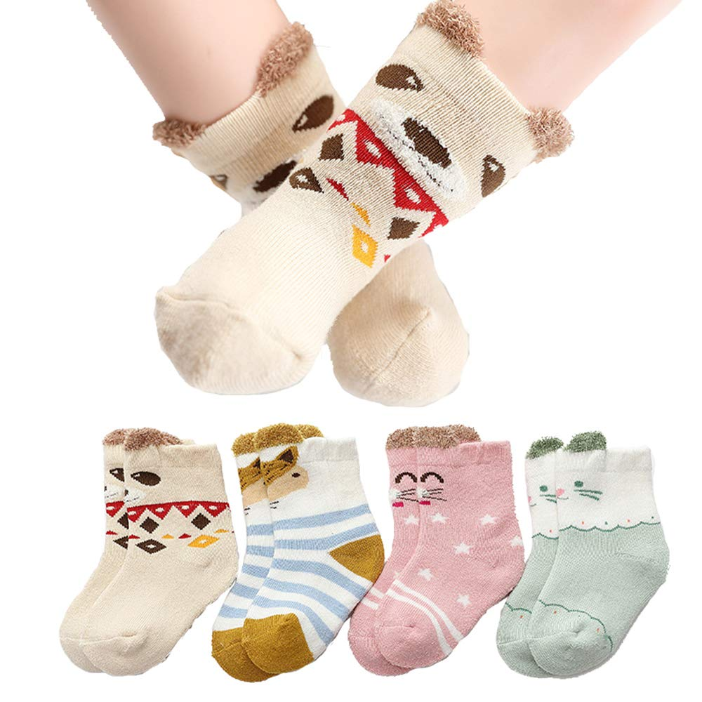 Cute Baby Socks Boy Girl Cartoon Cotton Socks NewBorn Infant Toddler Socks HF