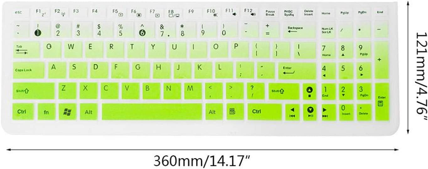 1Pc Silicone Keyboard Cover Keypad Film Skin Protector Notebook Silicone Protection for Asus K50 Laptop Accessory Purple