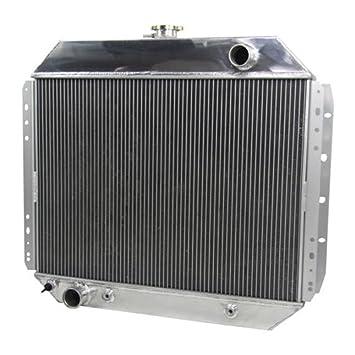 OzCoolingParts - Radiador para Ford Pro (4 filas, radiador de aluminio para Ford Bronco