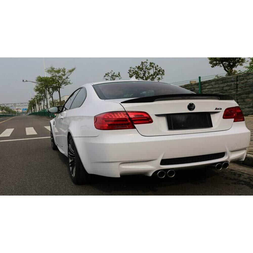 JXSMWY Spoiler Auto Spoiler Posteriore in Fibra di Carbonio Nero per BMW E92 3 Serie 2005 2012 E92 M3 a 2 Porte