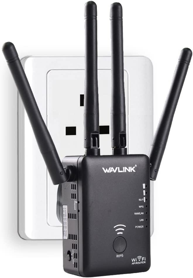 Wavlink Ac1200 High Power Dual Band 2 4 5g 1200mbps 3 In 1 Wireless Ap Router Wifi Repeater Range Extender Internet Signal Booster Amplifier With 4 High Gain Antennas Newest 2019 Price In Uae Amazon Uae Kanbkam