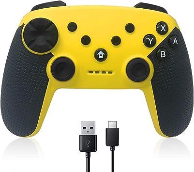 YIQIFEI Controlador inalámbrico Nintendo Switch, Maegoo Bluetooth Remote Wireless Pro Controller Gamepad Joypad Que admite la función Gyro Axis,Mando para Nintendo Switch Controlador Inalámbrico: Amazon.es: Deportes y aire libre
