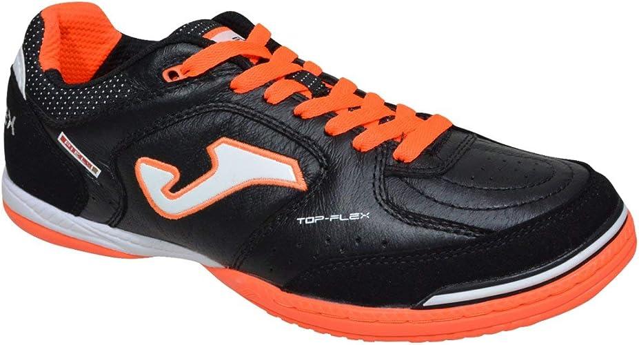 Joma Top Flex, Scarpe da Calcetto, Black Orange: Amazon.it