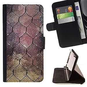 Momo Phone Case / Flip Funda de Cuero Case Cover - Ventana Diseño Arquitectura alambre - HTC Desire 626