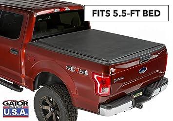 Tonneau Cover Ford F150 >> Amazon Com Gator Etx Soft Roll Up Truck Bed Tonneau Cover 53306