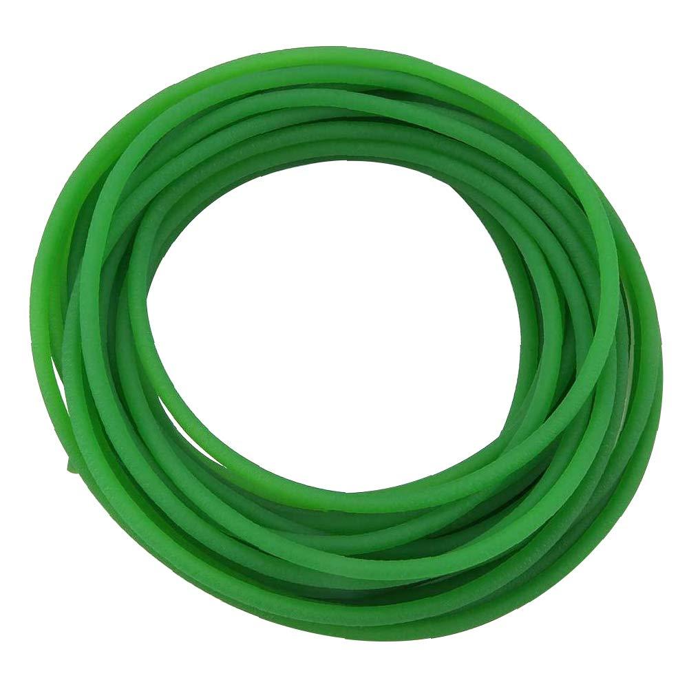 Beduan PU Transmission Round Belt 8mm OD High-Performance Urethane Belting Green for Conveyor Bonding Machine Dryer 10 Ft