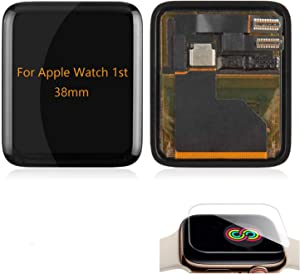 A-MIND for Apple Watch 38mm 42mm Iwatch 1st Aluminum LCD Display Screen Replacement,for 38mm 42mm Iwatch 1st Display LCD Panel Repair(38mm LCD with Touch)
