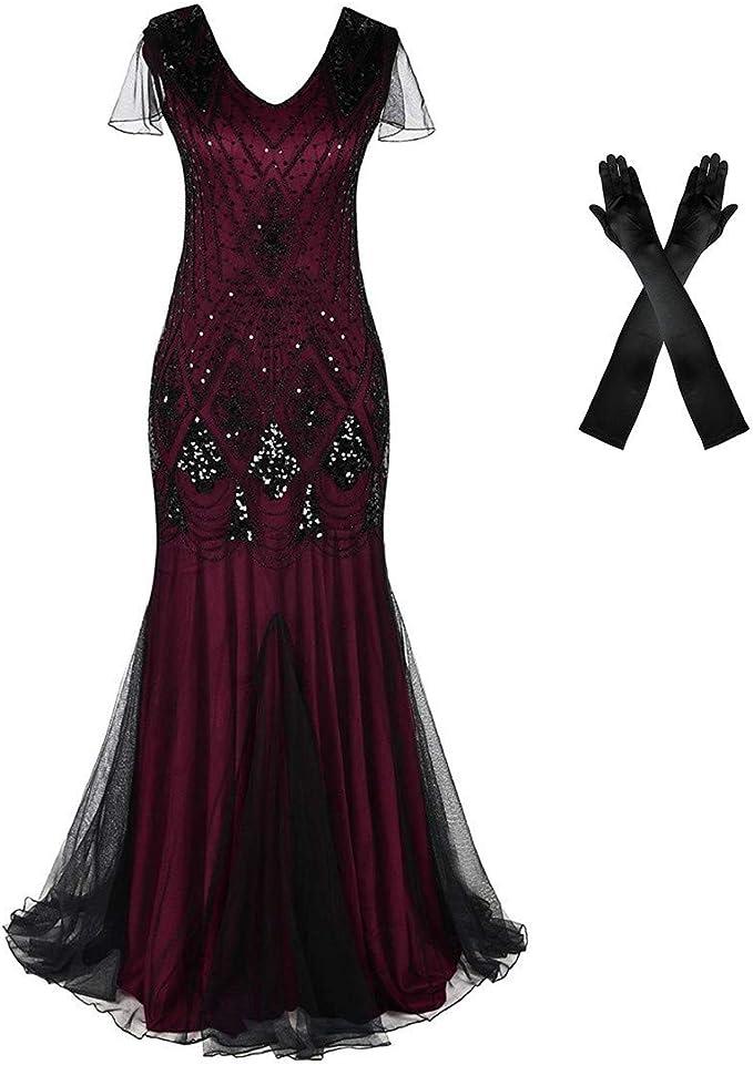 1920s prom evening dress