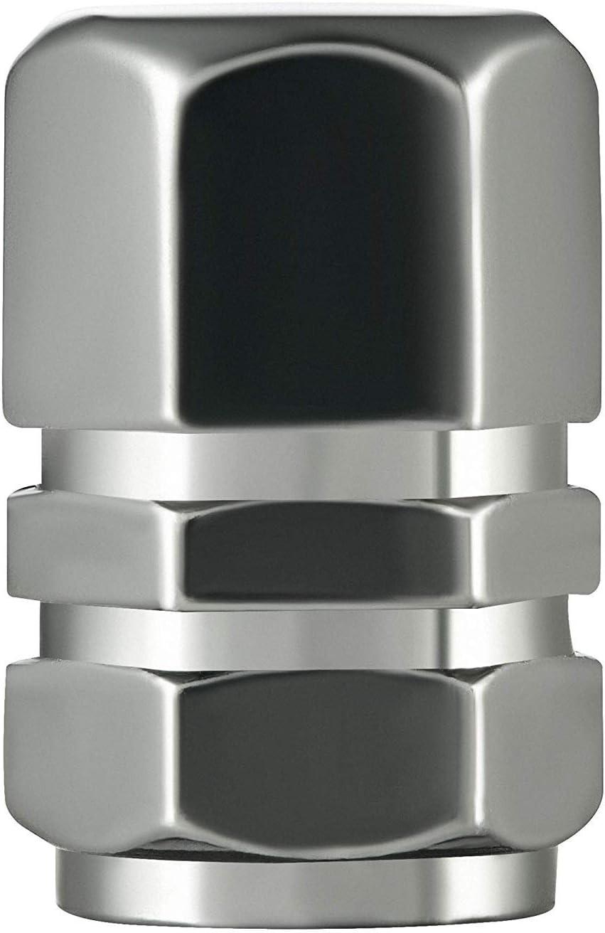 5x válvula cierres plata nuevo coche válvula tapas válvula tapas aluminio Super