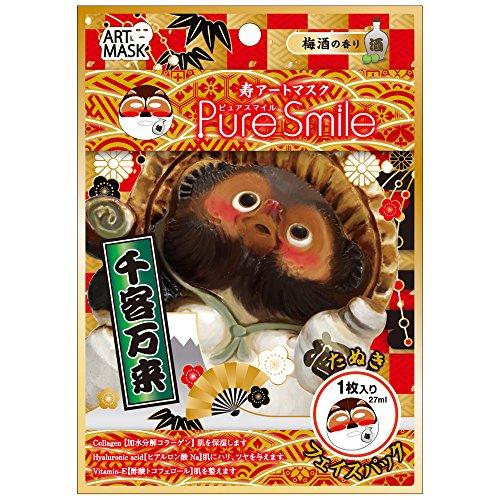 Pure Smile Kotobuki Art Sheet Facial MaskSerise, Dragon/Raco