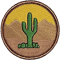 "Cactus Patrol Patch - 2"" Round (Sew-on)"