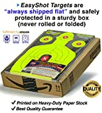 105-PACK-Super-Saver-Bundle-Premium-Silhouette-Shooting-Targets-Maximum-Visibility-18X12-Bright-and-Colorful-Fluorescent-Green-Easy-To-See-Your-Shots-Land-150-Free-Repair-Stickers