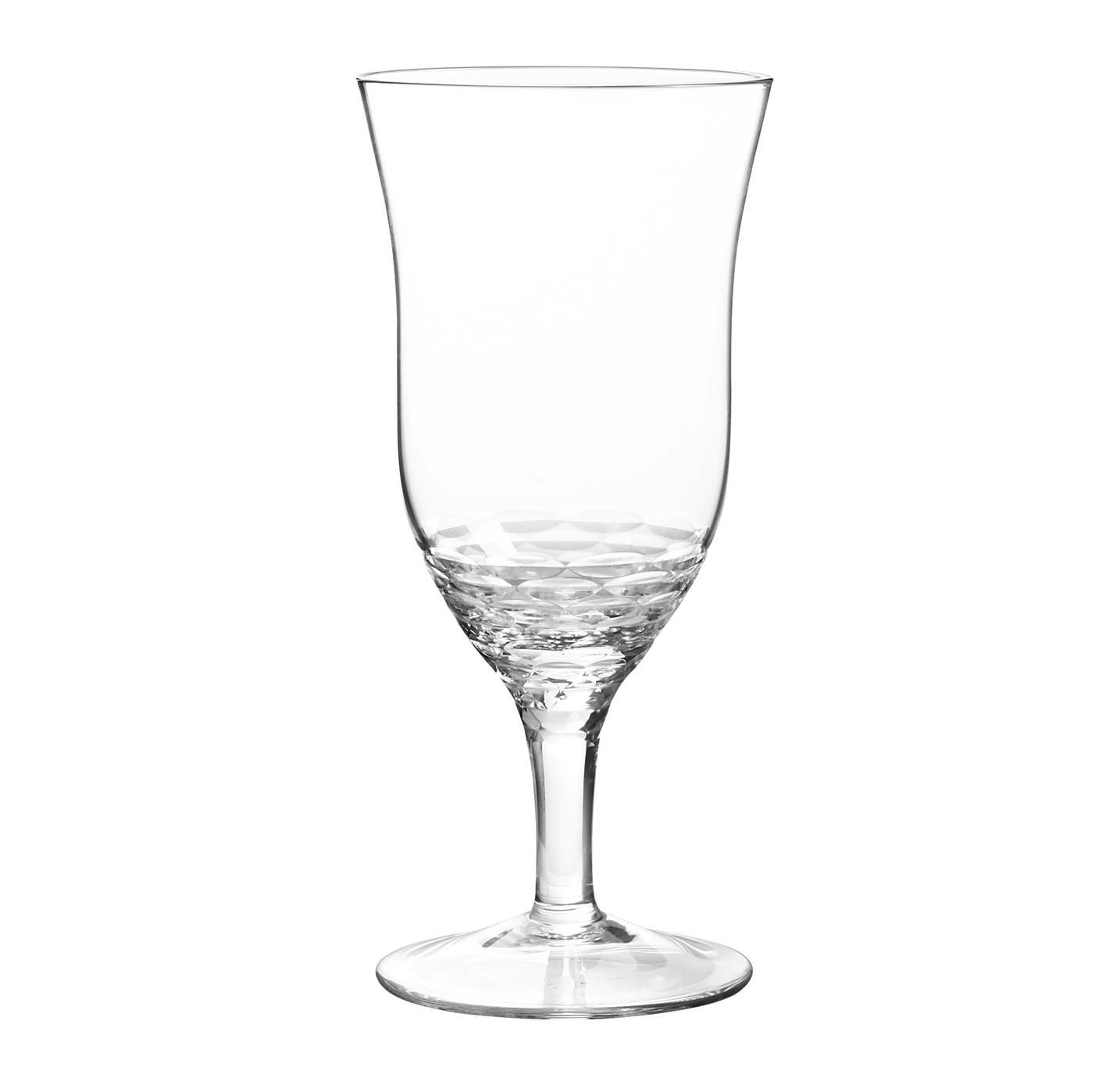 Qualia Glass Q251007 Reef Iced Tea/Beverage Glasses, 20 oz, Clear