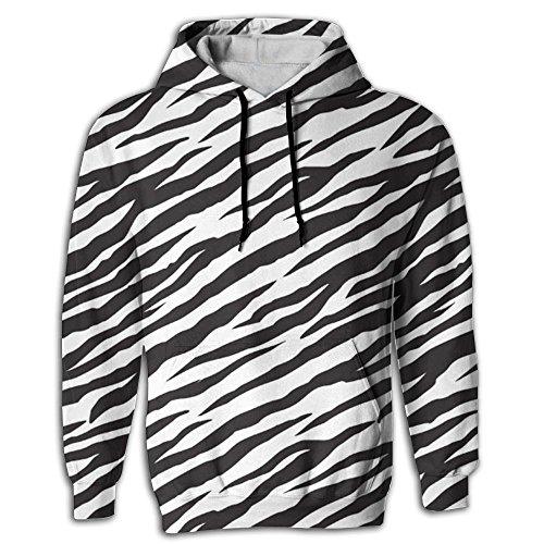 Zebra Print Hoodie - 9