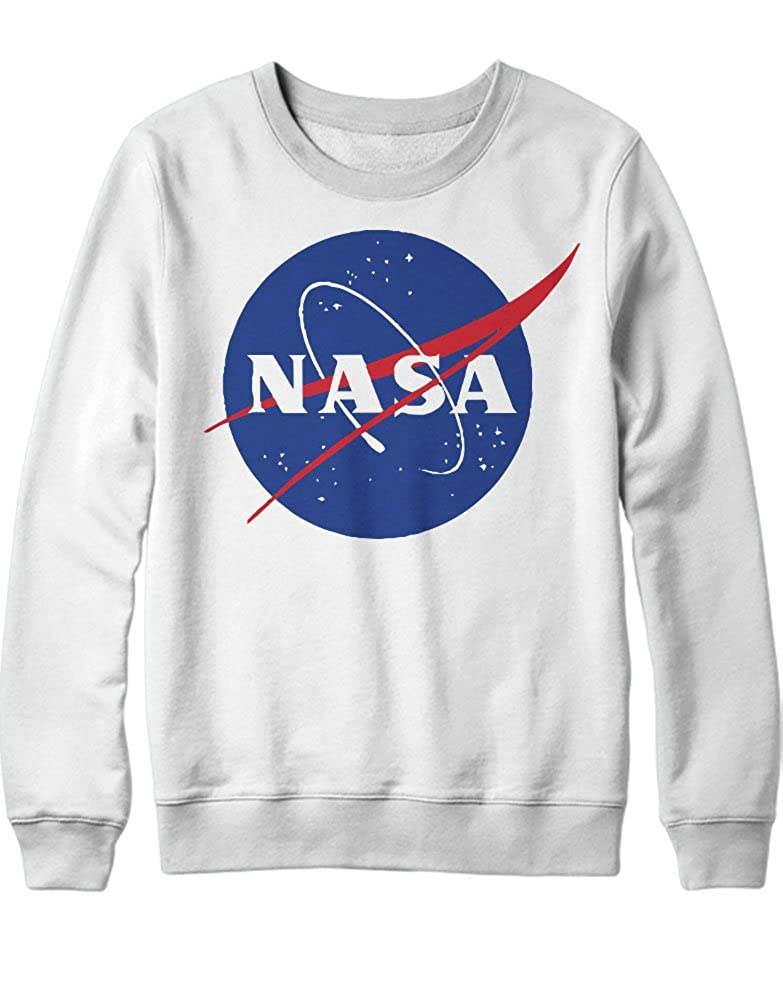 Sweatshirt NASA Interstellar Galaxy Astronaut Space Hipster Dreieck Triangle Noir Nebula Sterne H970011