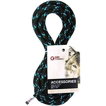 reliable GM CLIMBING 8mm Accessory Cord Rope 19kN Double Braid Pre Cut CE/UIAA