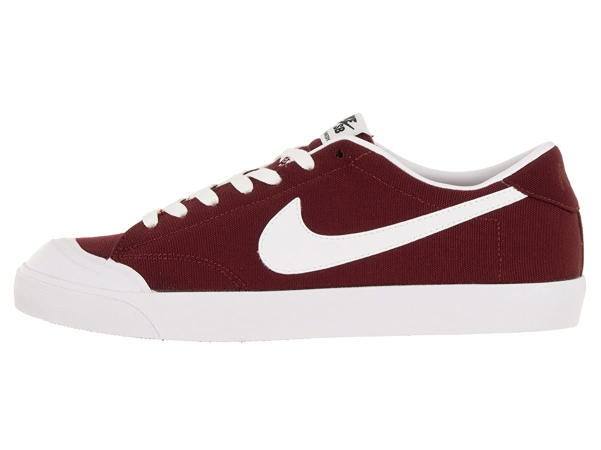 buy online 92ab2 c837b Nike Zoom All Court CK Mens Skateboarding-Shoes 806306-610 9.5 - Team RED  Black White  Amazon.in  Shoes   Handbags