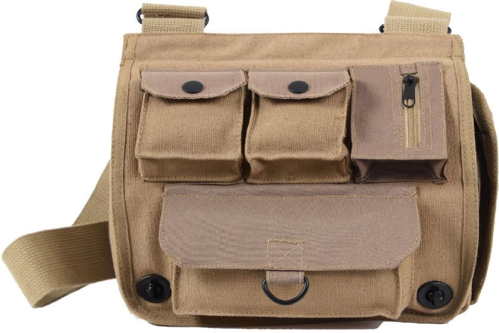 Khaki Heavy Duty Survivor Pack Shoulder Bag