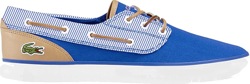 ed34336ad Lacoste Mens Jouer Deck 117 2 Cam Blue Size  11 M  Amazon.co.uk  Shoes    Bags