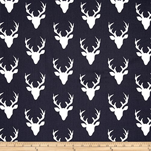 "Art Gallery Fabrics""""Art Gallery Hello Bear Buck Forest, Twilight"