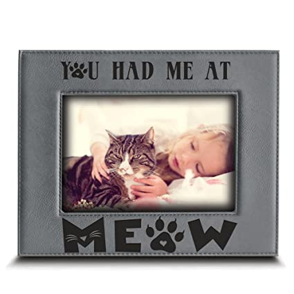 Amazoncom Bella Busta You Had Me At Meow Cat Frame Pet Frame