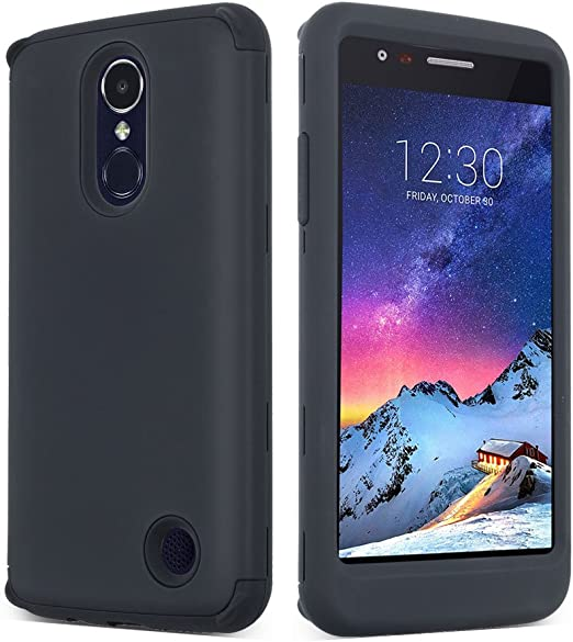 soundmae LG Aristo Case, LG K8 2017 Case, Heavy Duty PC and TPU ...
