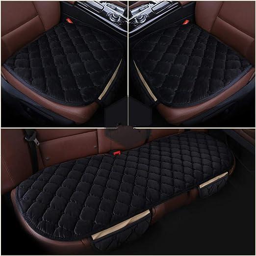 Culasign 3set Auto Sitzauflagen Universal Sitzkissen Autositzbezüge Vorne Hinten Sitzbezüge Fahrzeuge Stuhl Pad Mat Rutschfest Bequem Auto