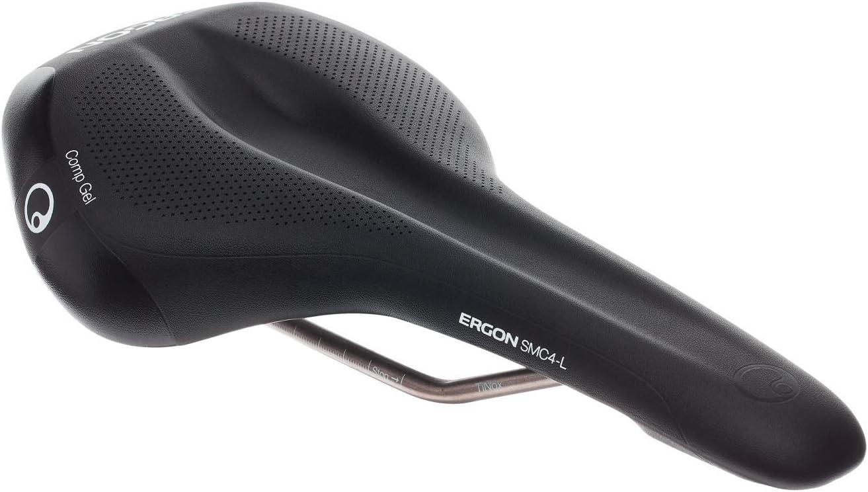Nouveau Ergon SMC4-M Comp Gel Selle Medium Noir