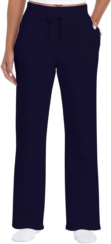 Gildan Women's Open Bottom Sweatpants at  Women's Clothing store