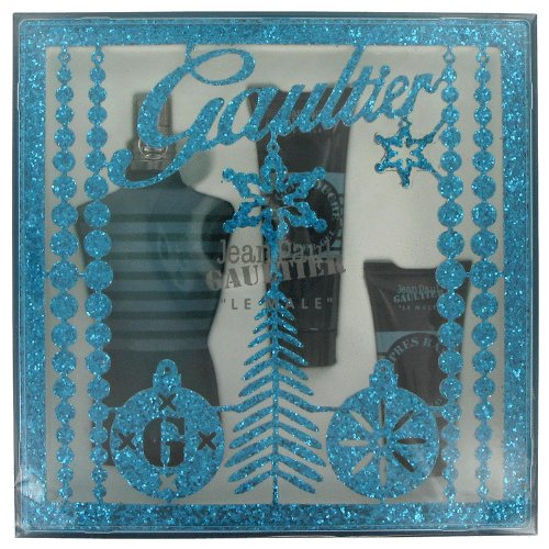 - Jean Paul Gaultier By Jean Paul Gaultier Gift Set -- 4.2 Oz Eau De Toilette Spray + 2.5 Oz Shower Gel + 1 Oz After Shave Balm For Men