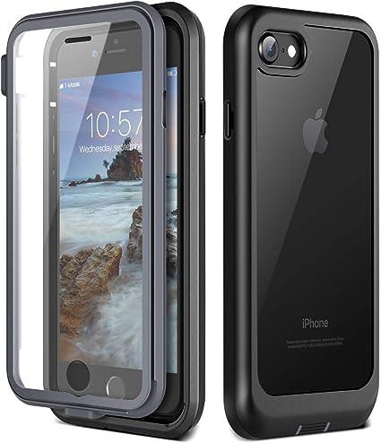 Prologfer Funda para iPhone 7/8 360 Grados Transparente Carcasa ...