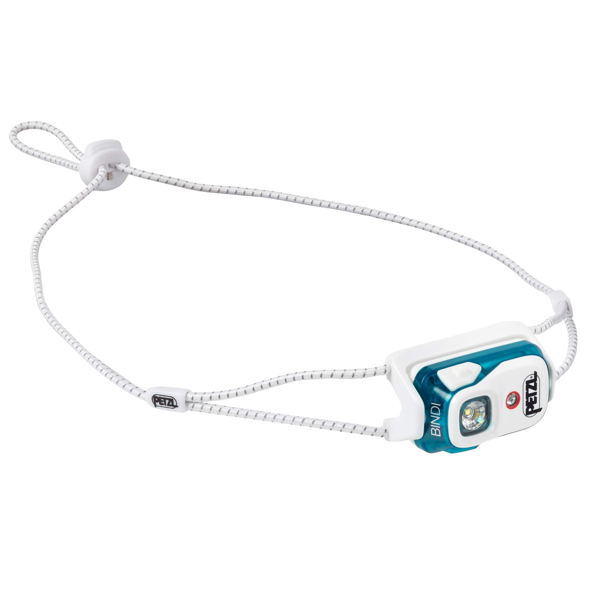 PETZL - Bindi, 200 Lumens, Ultralight, Rechargeable, and Compact Headlamp for Urban Running, Emerald by PETZL