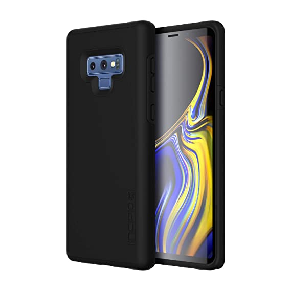 promo code 0144f 626d1 Incipio DualPro Samsung Galaxy Note 9 Case with Shock-Absorbing Inner Core  & Protective Outer Shell for Samsung Galaxy Note 9 - Black