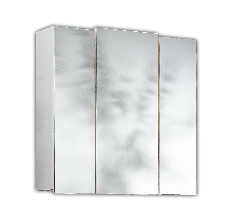 Posseik 5484–76 armoire 3 portes - 68 x 71 x 20 cm (blanc)