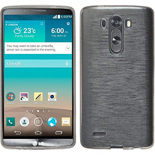 LG G3 Case,bdeals Glossy Outer Brushed Flexible Soft TPU Slim Fit Case Protective Skin for LG G3 2014(Not Fit For LG G3 S, Beat and Vigor)