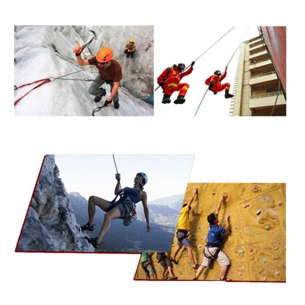 Alpinismo roja Size : 30m LIINAW Cuerda de Alpinismo al Aire Libre de 10 mm de di/ámetro Senderismo Accesorios de Alta Resistencia de la Cuerda Cuerda de Seguridad for IR de excursi/ón