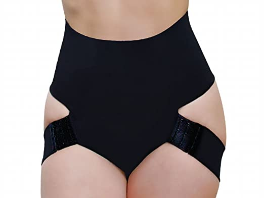 97bc8791c7b Butt Lifter Panty Booty Enhancer Tummy Control Body Shaper - 4XL - Black
