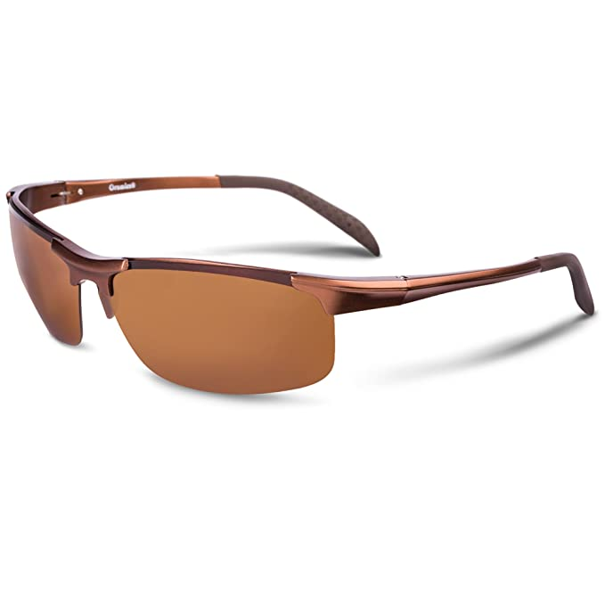 8b48ee6a72623a Sonnenbrille Herren Damen polarisiert mit UV 400 Schutz Fahrrad-Brille  verspiegelt Racing Style Inkl.